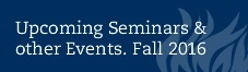 upcoming seminars fall 2016