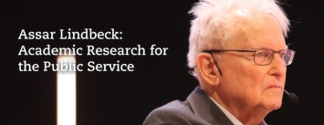 Assar Lindbeck: Academic Research for the Public Service