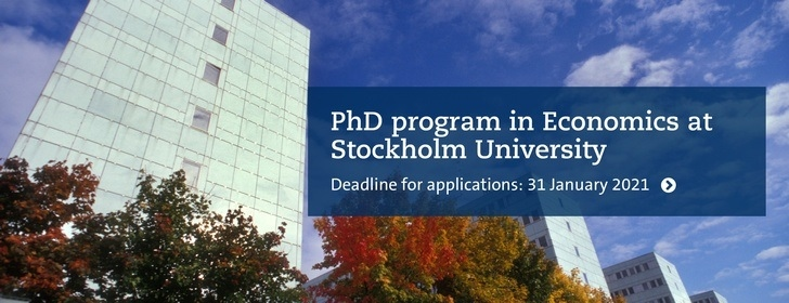 PhD Program in Economics
